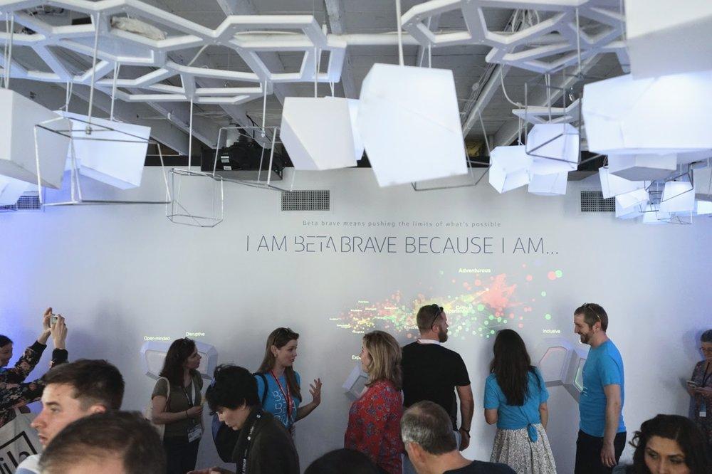 - Community Emerges// SXSW '17-Interactive Installation
