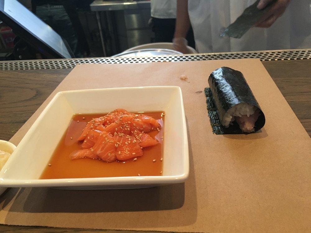 Sashimi and Hand Rolls!
