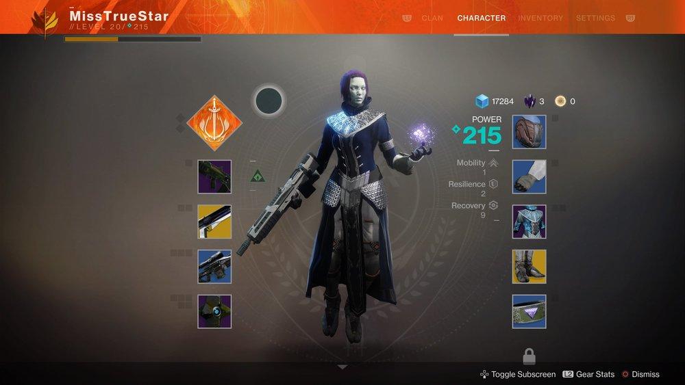 My Destiny 2 Awoken Warlock