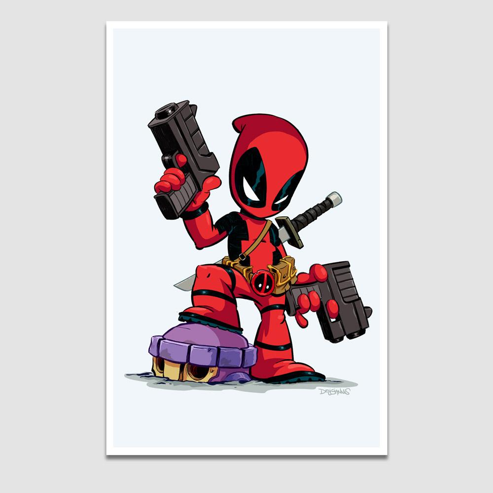 Deadpool Print Deligiannis Bros