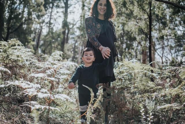 giuliana scala with her child for kid and hub adelaide