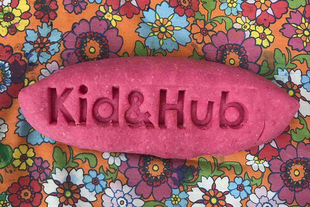 Kid & Hub, non-toxic play dough recipe