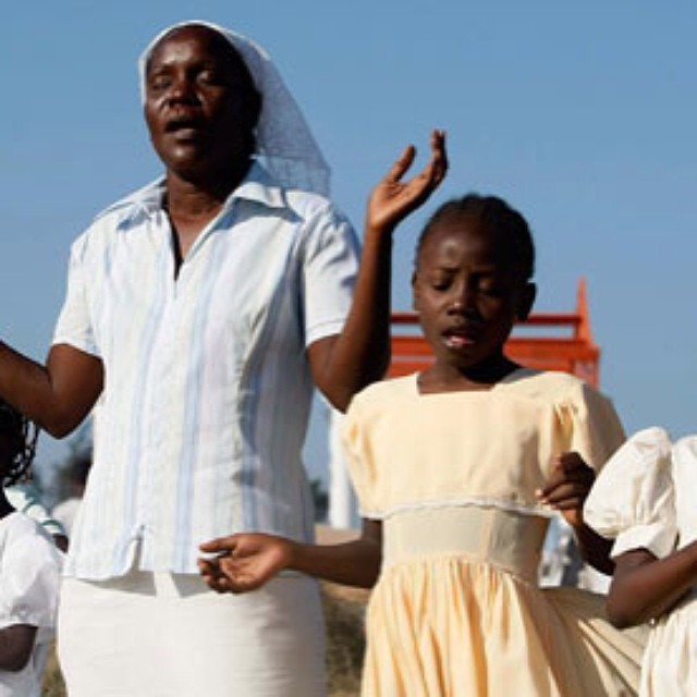 Haiti is mostly Christian country with 80% Roman Catholic & 20% professing Protestantism ‪#‎carolineswedding‬ ‪#‎culture‬. Haiti also has a rich vodou tradition as well. #carolinesweddingfilm #haiti #haitian