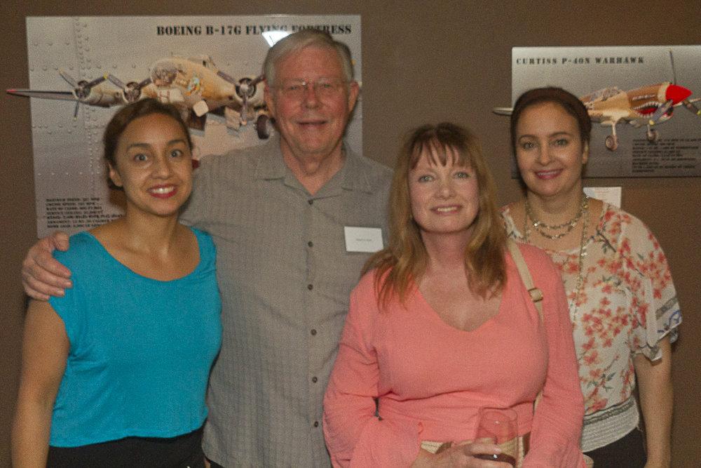 My good friends from the Heritage Studios Digital Video Group. Karina Martinez, Fina Bentley and Dee Castillo.