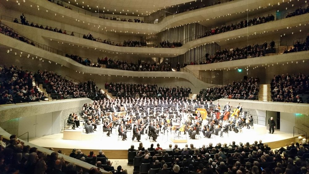 Philharmonia Chorus: Beethoven's Missa Solemnis - Rebecca joined London Philharmonia Chorus at the new Elbphilharmonie in Hamburg, 2017