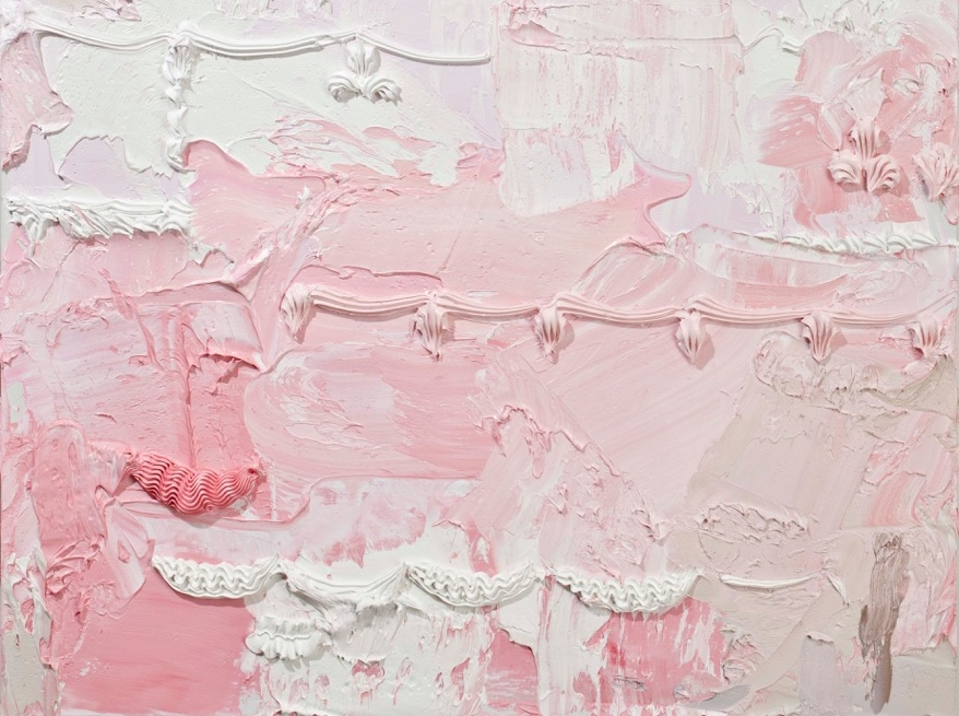 Detail: Will Cotton,  Persistence of Desire 2 , 2012, Oil on Linen, 47 x 32 inches