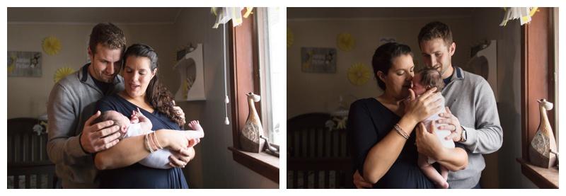 Rochester NY Lifestyle Newborn Photographer newborn snuggles