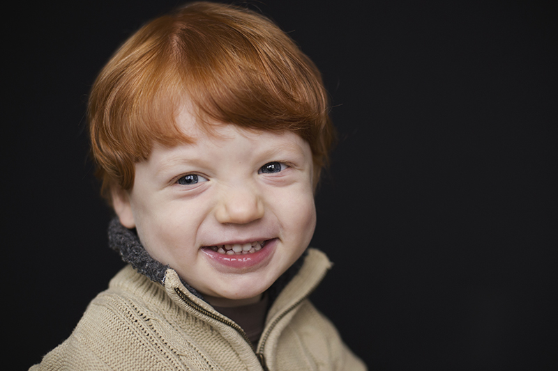 Rochester Family Photography Smiling handsome boy