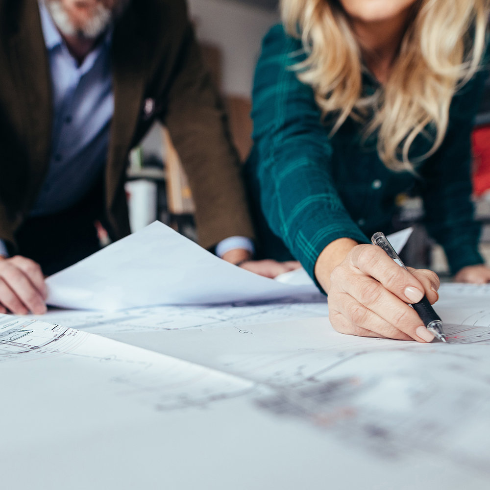 Step 1 - homesite and plan selectionWe'll help you choose the lot and floor plan that feel right for you, setting the foundation for a home that will be built to fit your needs.