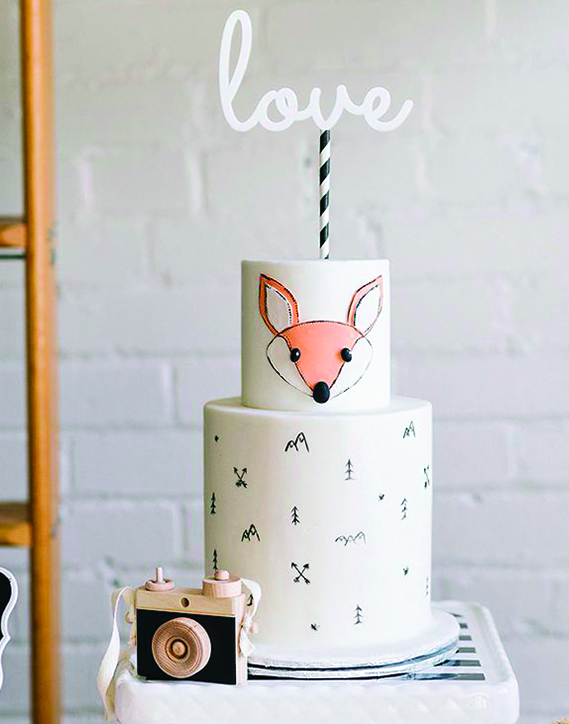 "Featured here:  love acrylic cake topper  and  sippers candy striped paper straw    This ""love"" acrylic white cake topper was given a whimsical modern look by adding a black and white candy striped paper straw."