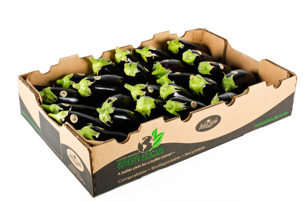 Fancy Eggplants - Bulk Tray