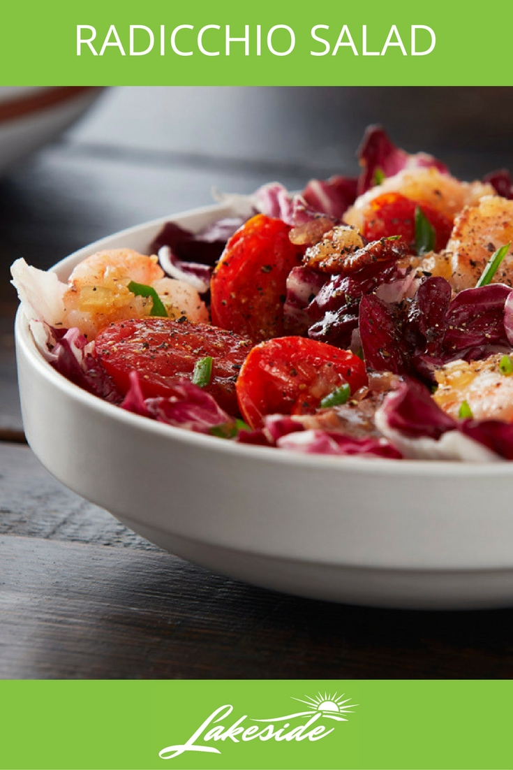 Radicchio Salad - Lakeside - Tomato Recipes