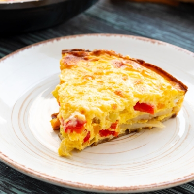 Cheese & Pepper Frittata