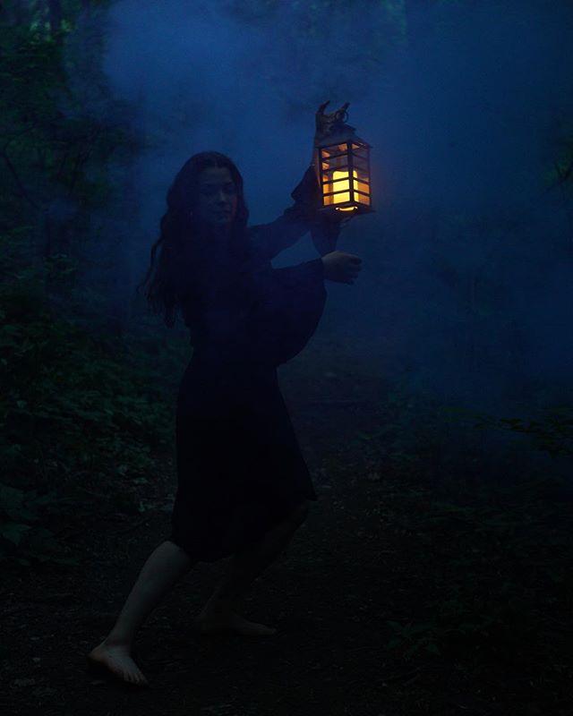 Dancers in the dark. Dreamy shot by @chadharnish