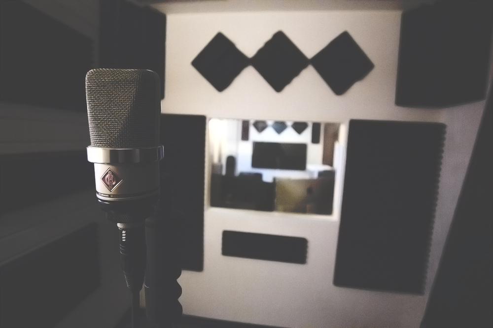 Vocal Booth - Mic