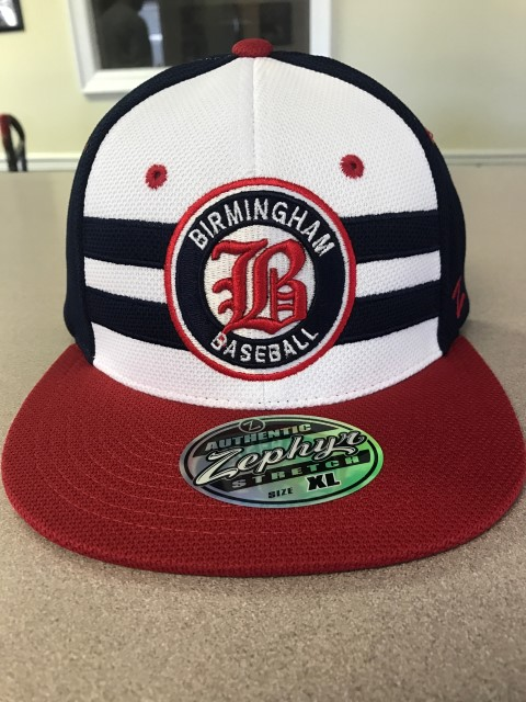 "Birmingham Baseball Throwback Hat ""Get'm while they're here!"""