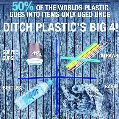 #PlasticFreeJuly #ChooseToRefuse #sayno2plastic #singleuseplastic
