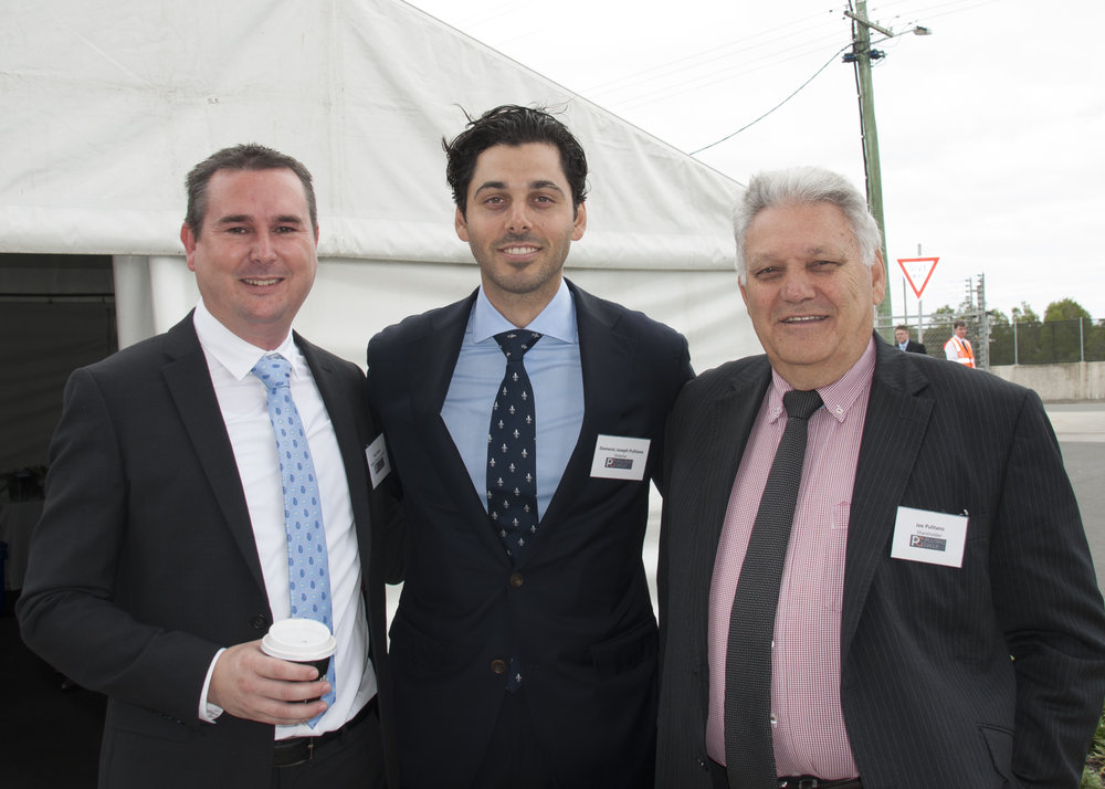 Paul Davies, Domenic Pulitano, Joe Pulitano.jpg