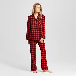 Buffalo Plaid Pajamas from Target