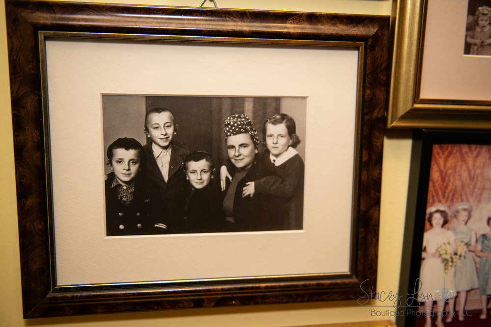 Judah Samet's family after surviving the Holocaust. (Judah, far left)