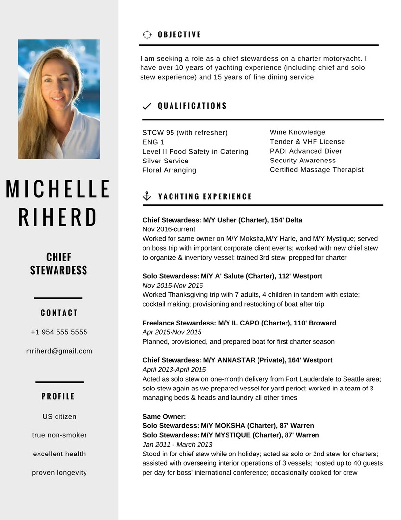 Portfolio: Resume Sample