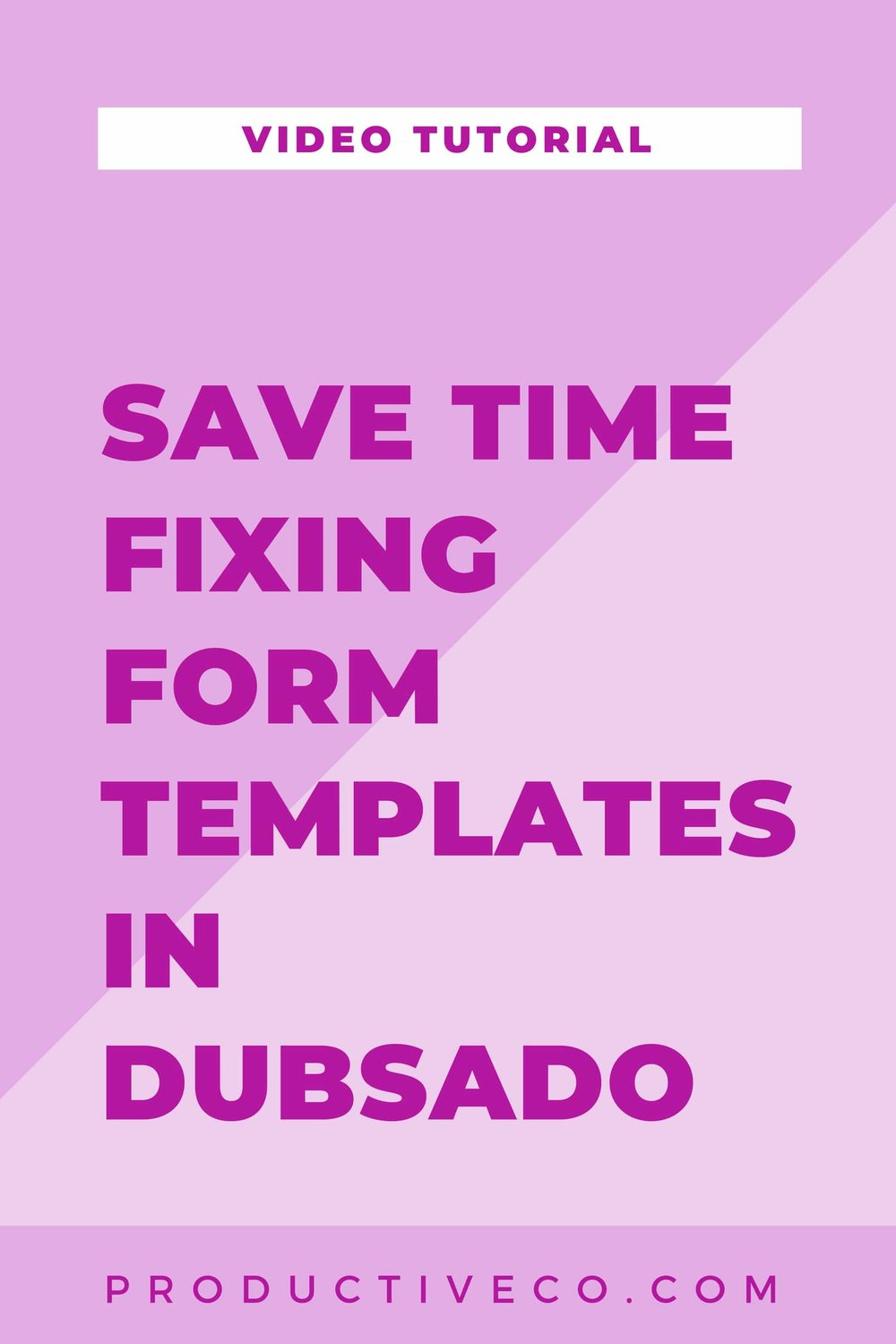 Save Time Fixing Form Templates In Dubsado Productive Co