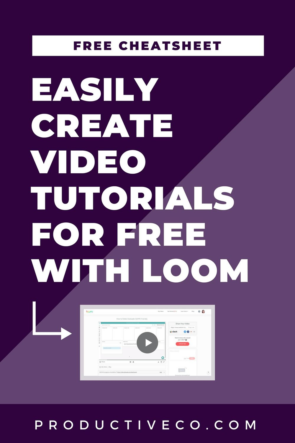 Learn how to create video tutorials for free using Loom. You can record yourself or record your screen, edit, share, and embed the videos.