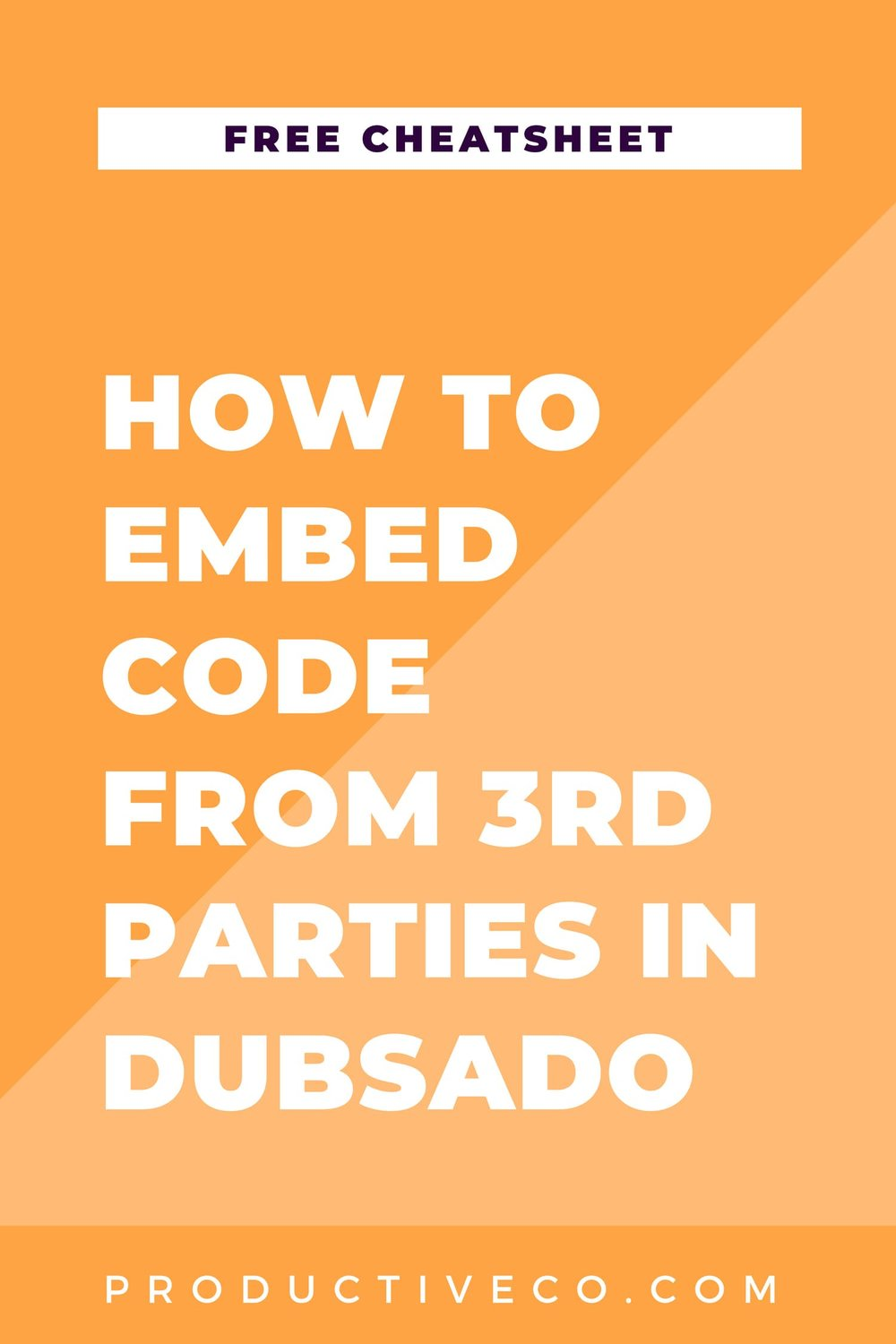 Add any 3rd party software to Dubsado. Find out how to embed code in Dubsado here.