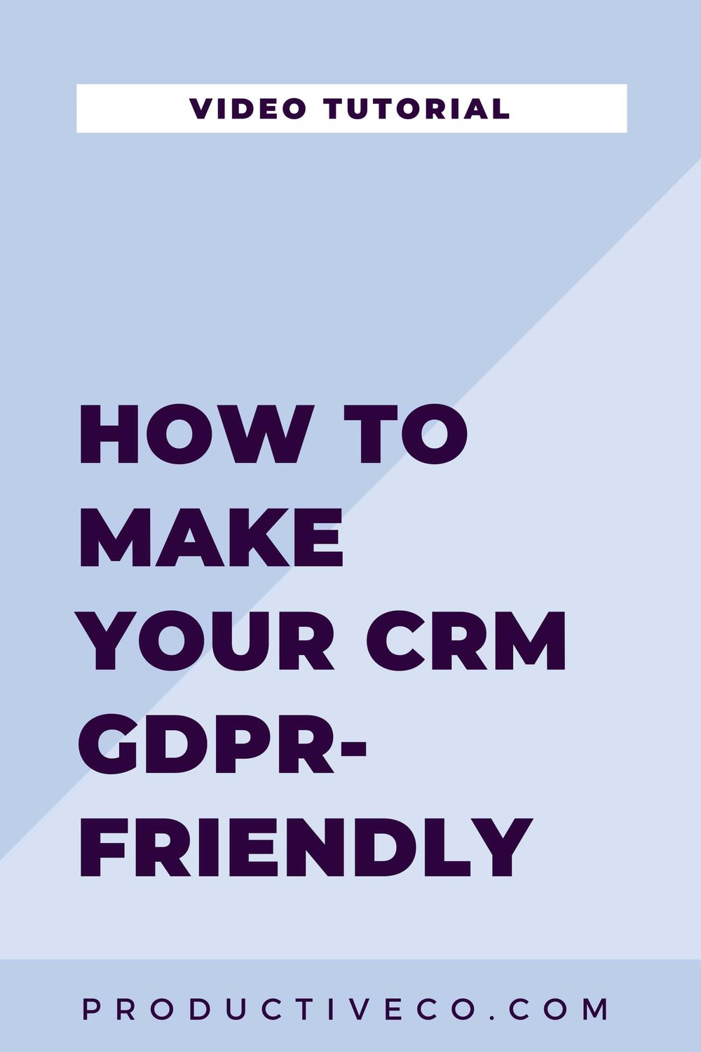 How to make Dubsado GDPR-friendly is covered in this post. Find out if you need to comply and how you can do so in Dubsado. This post covers all other CRMs, too.