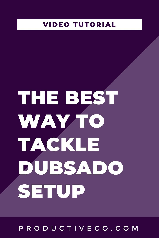Tackle Dubsado with a Dubsado Setup Plan for Asana, Trello, or Word, map out your processes, understand workflows, and map out your processes. Have a project plan for Dubsado setup.
