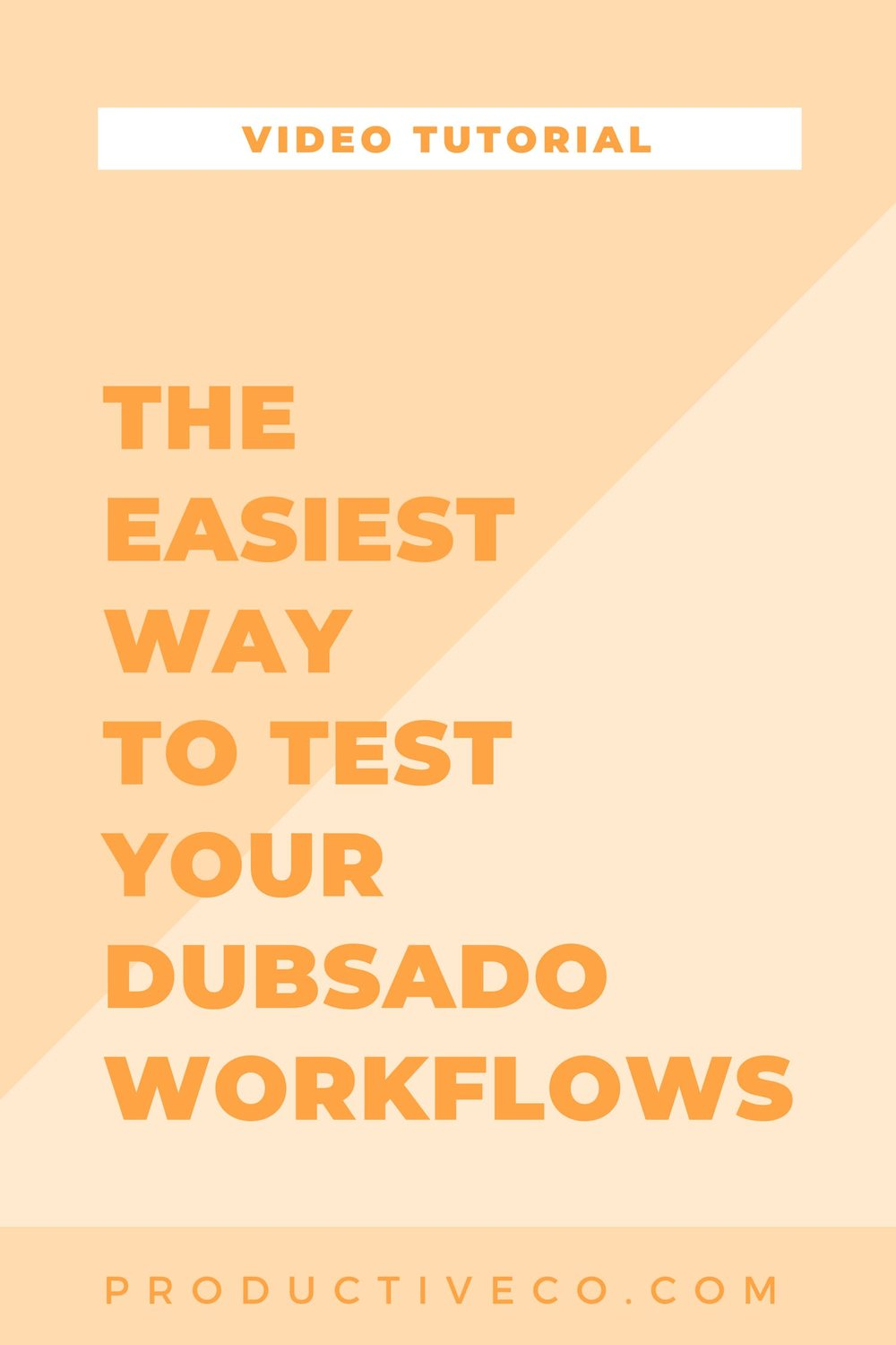Test your Dubsado workflows to make sure they are perfect. There are two different ways to test, but I only recommend one. Find out why.