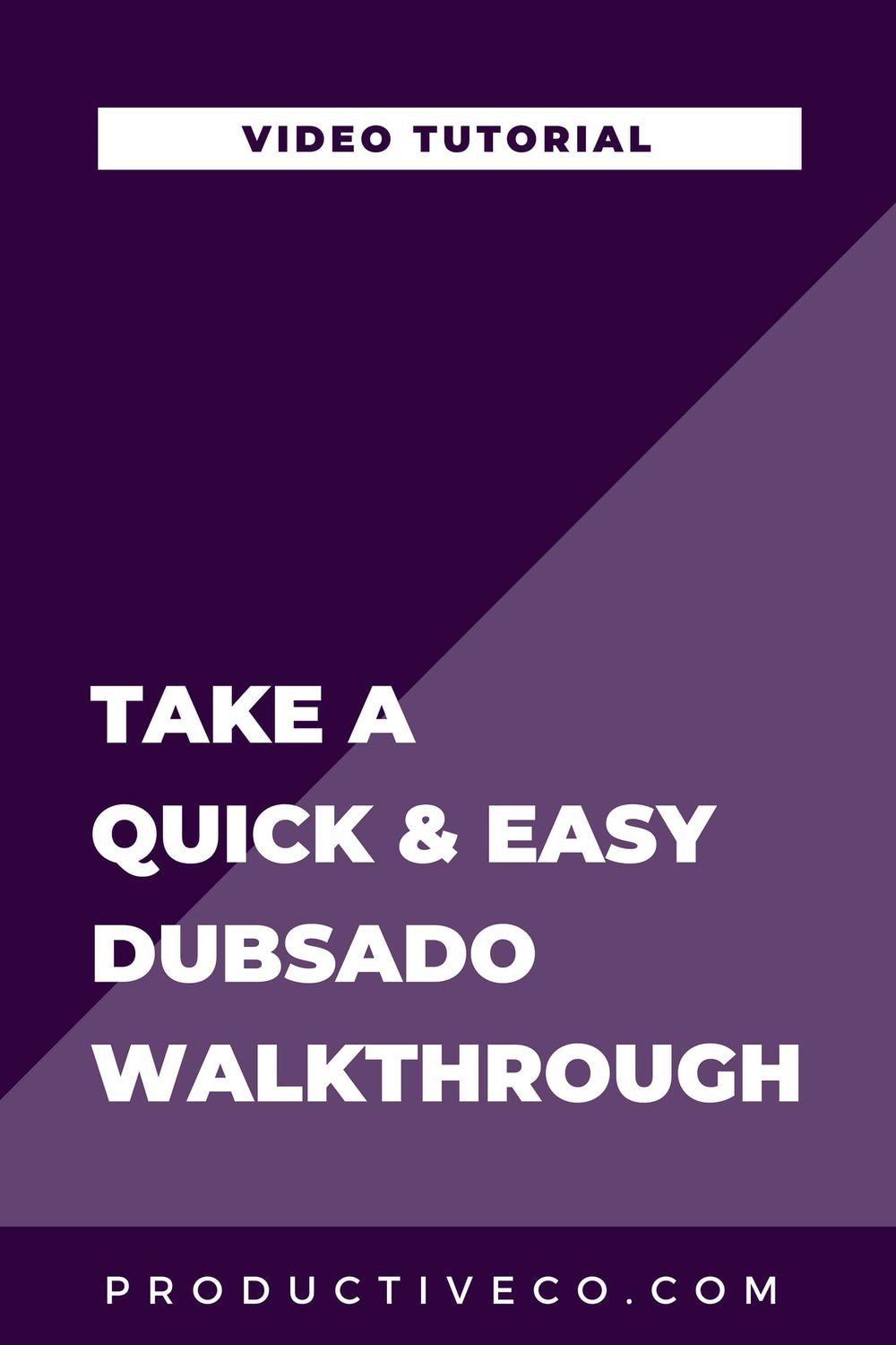 A Quick & Easy Dubsado Walkthrough Video. Take a tour of Dubsado in this tutorial.