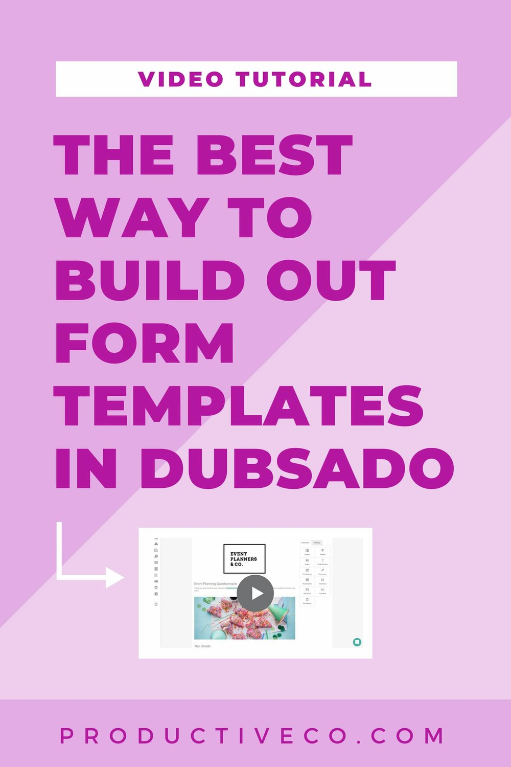 Best Way To Build Out Forms In Dubsado Productive Co Dubsado