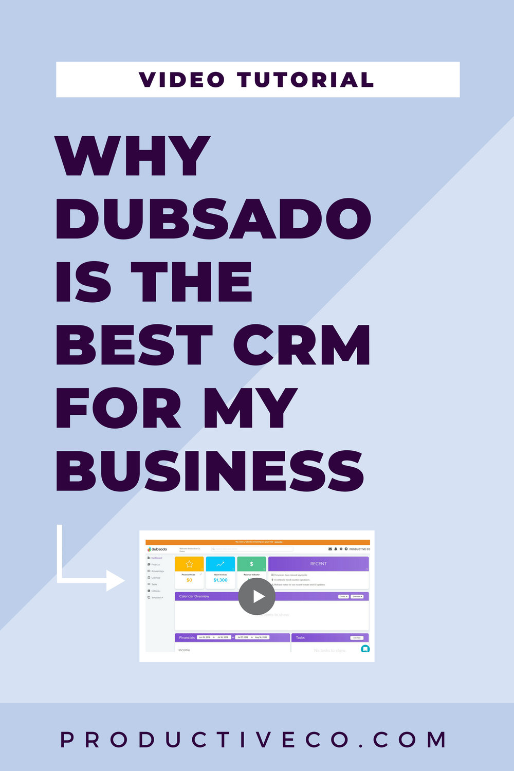 Dubsado is the best crm for creative business owners and creative entrepreneurs. Find out why it works well for me.