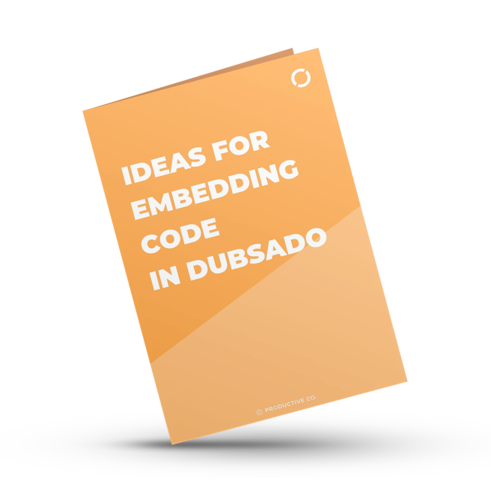 Learn how to embed code in Dubsado and get this free list of 10 ideas for embedding code in Dubsado. Use these ideas to customize your forms!