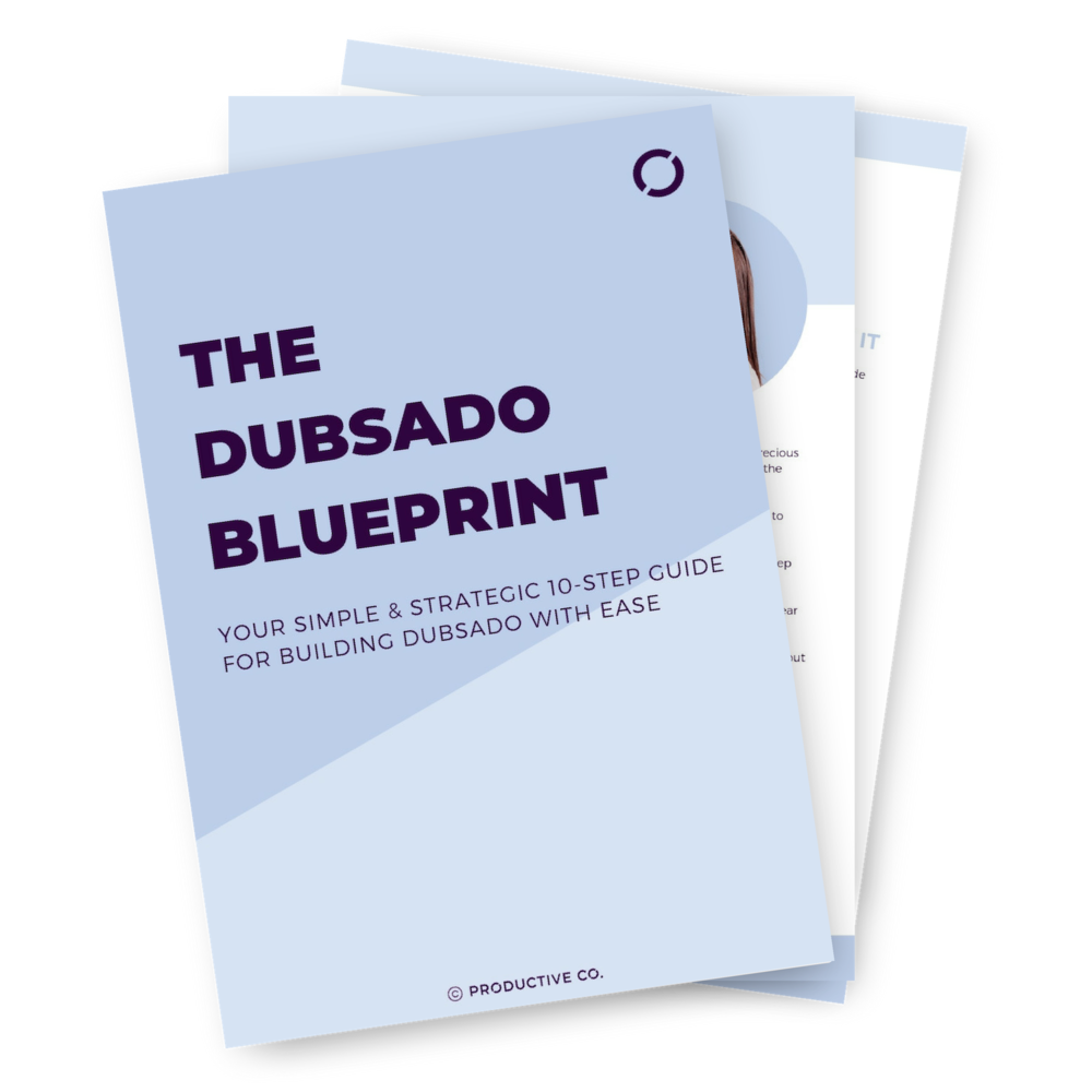 The Dubsado Blueprint is a free Dubsado setup guide. Take a Dubsado walkthrough and learn how to set up forms, templates, workflows, proposals, and invoices in the best order.