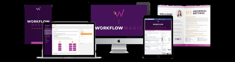 Workflow Magic Dubsado course mockup.