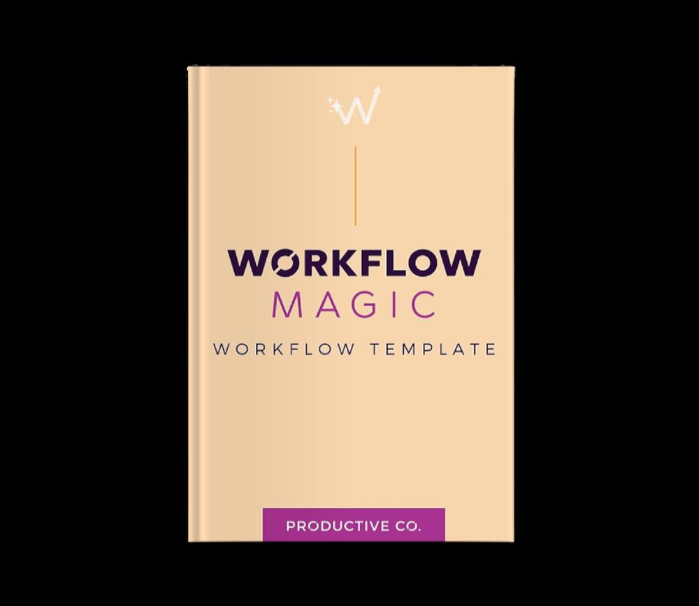 Dubsado workflow template mockup.