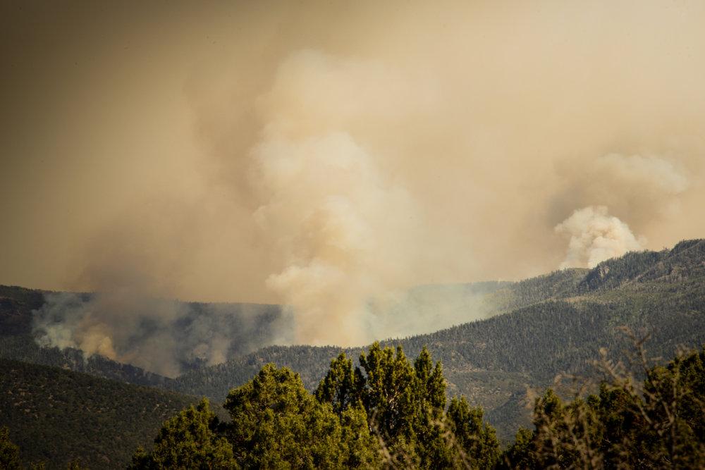 Forrest Fire, Central Utah. ©Robert Brian Welkie 2016