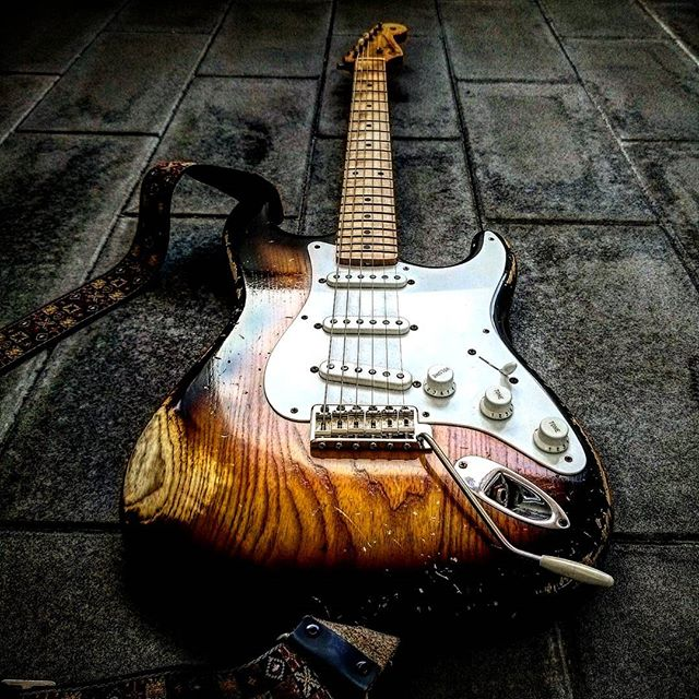 Fender Stratocaster w/ Humbucker Mod.