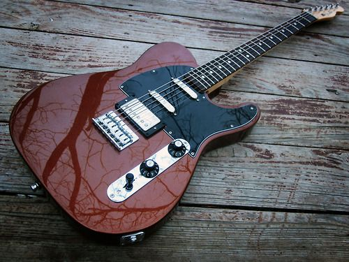 Fender Baritone Blacktop Telecaster