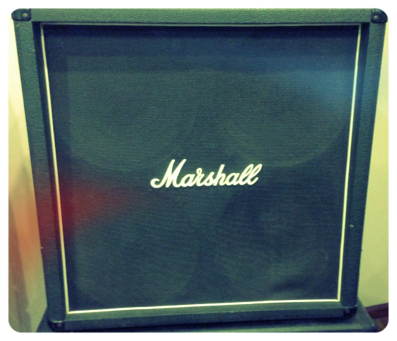 Marshall 1960 4x12 (Made in England Model) - Vintage Celestion 30's