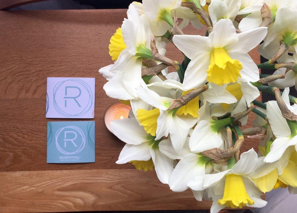 spring flowers rosenthal skincare herne bay facials.jpg