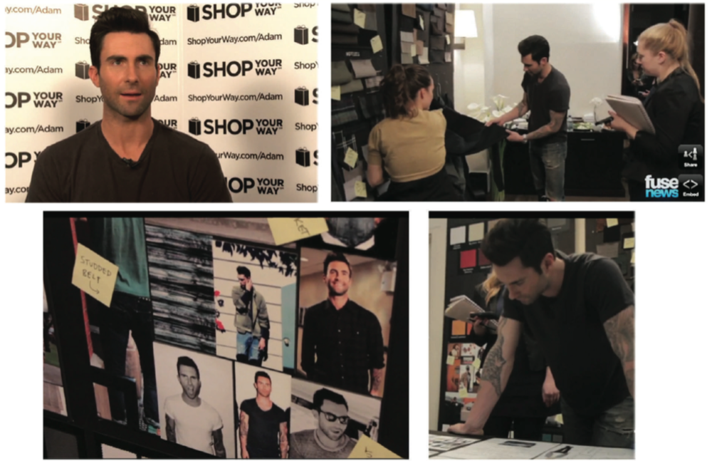 Adam Levine Design Meeting