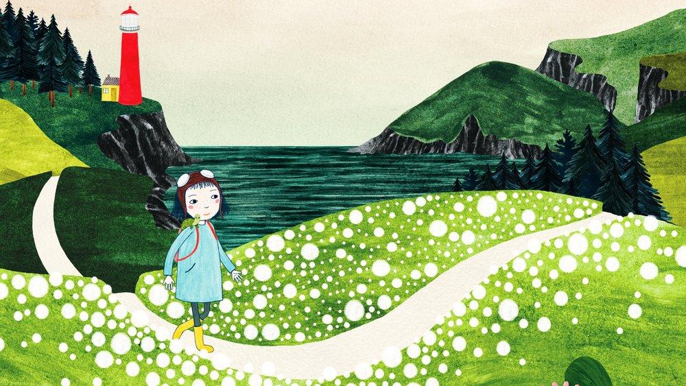 HOLLY PÅ SOMMERØEN: Opdagelsesrejsen