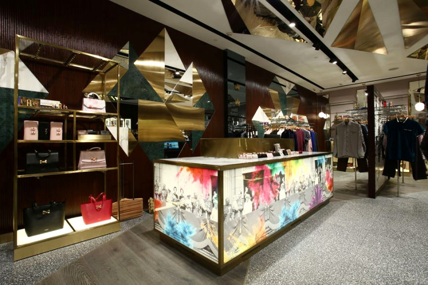 c15a503c8 TED BAKER - nbsp Chanakya Mall – New Delhi – India Ted Baker launched its