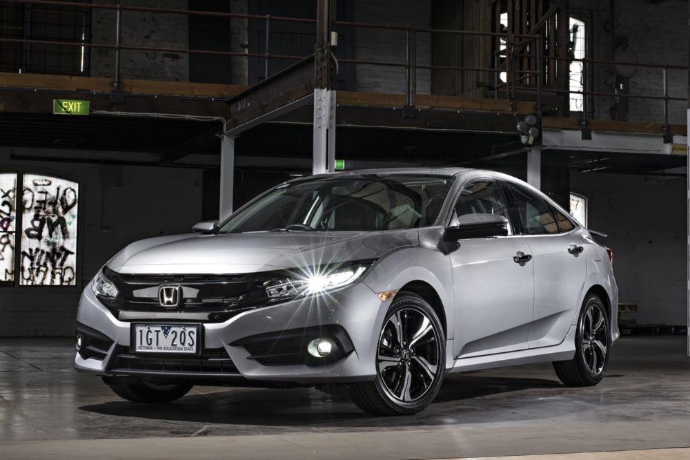 URBAN AGGRESSION   The 2016 Honda Civic
