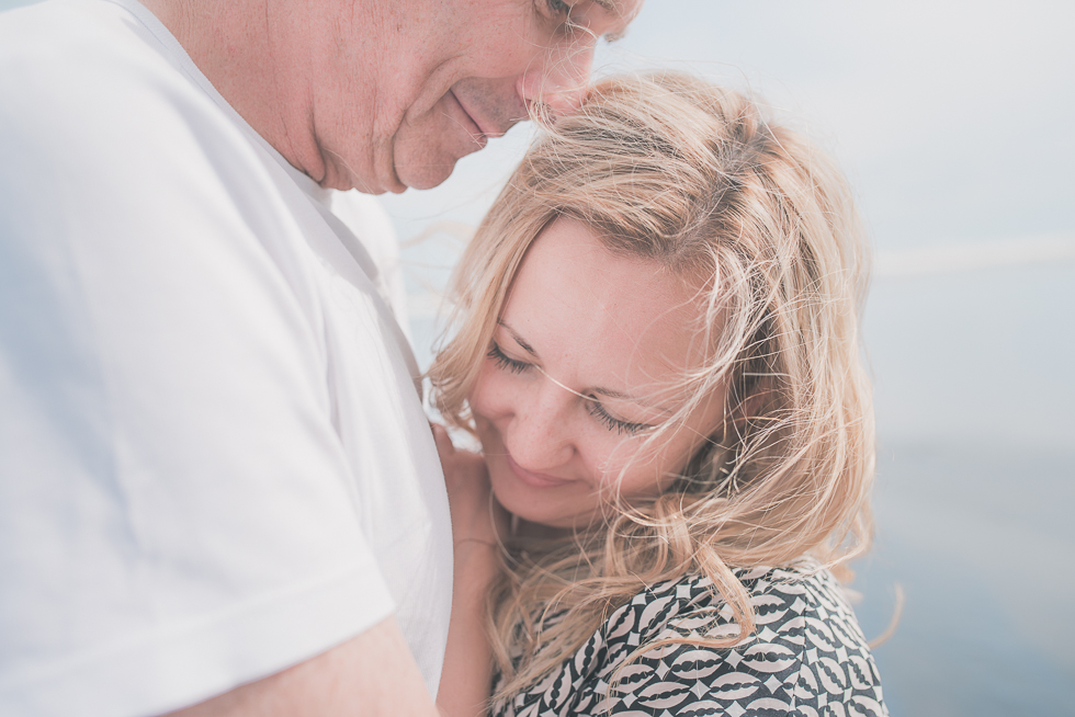 Family of four - beach photo shoot {Auckland couples-wedding photographer}