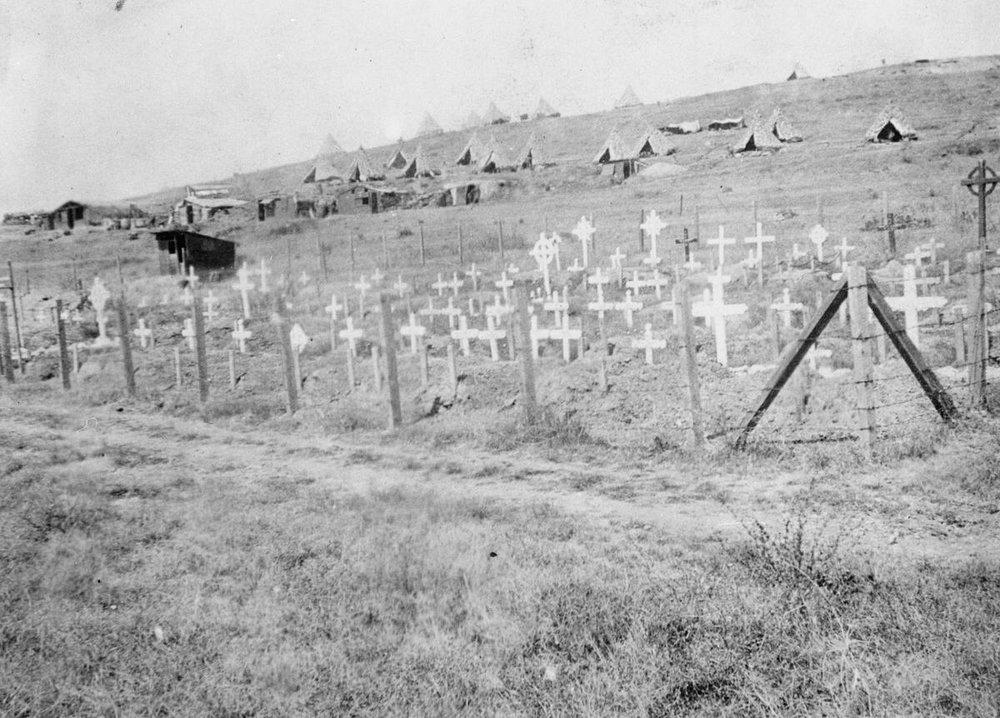 THEN - CWGC Karasouli Military Cemetery (HU 94399)