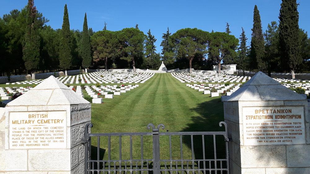 NOW - CWGC Karasouli Military Cemetery